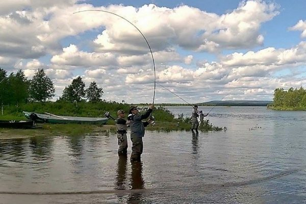 Training is the key for flyfishing!