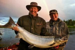 Nightless night - Magical time on salmon river
