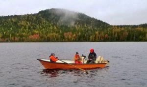 Opastettu kalastusretki Miekojärvelle