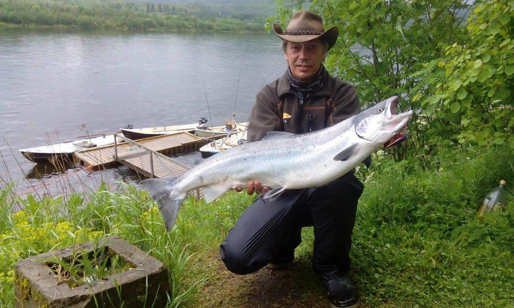 Kauden alussa isot Atlantin lohet saapuvat Namsenille. Kalasta omasi perholla tai uistimella.