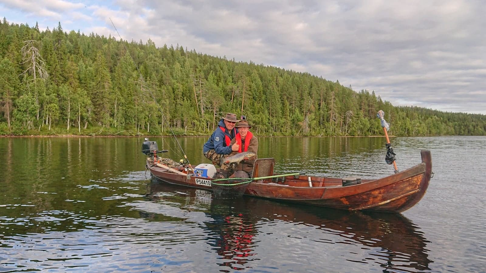 Lake Koutus brown trout