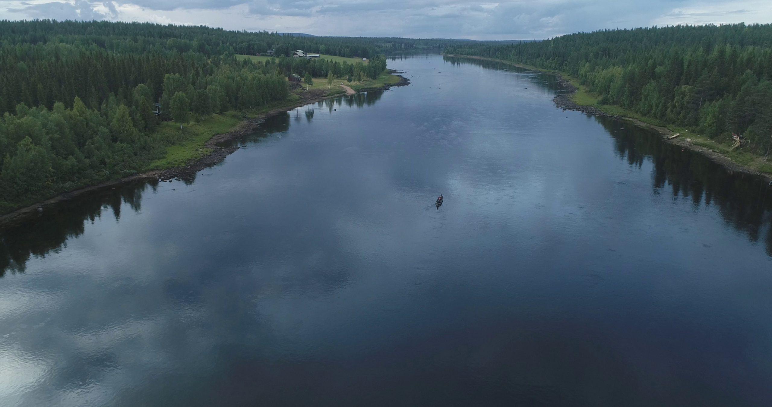 Kuusisuvanto, home of 40lb salmons