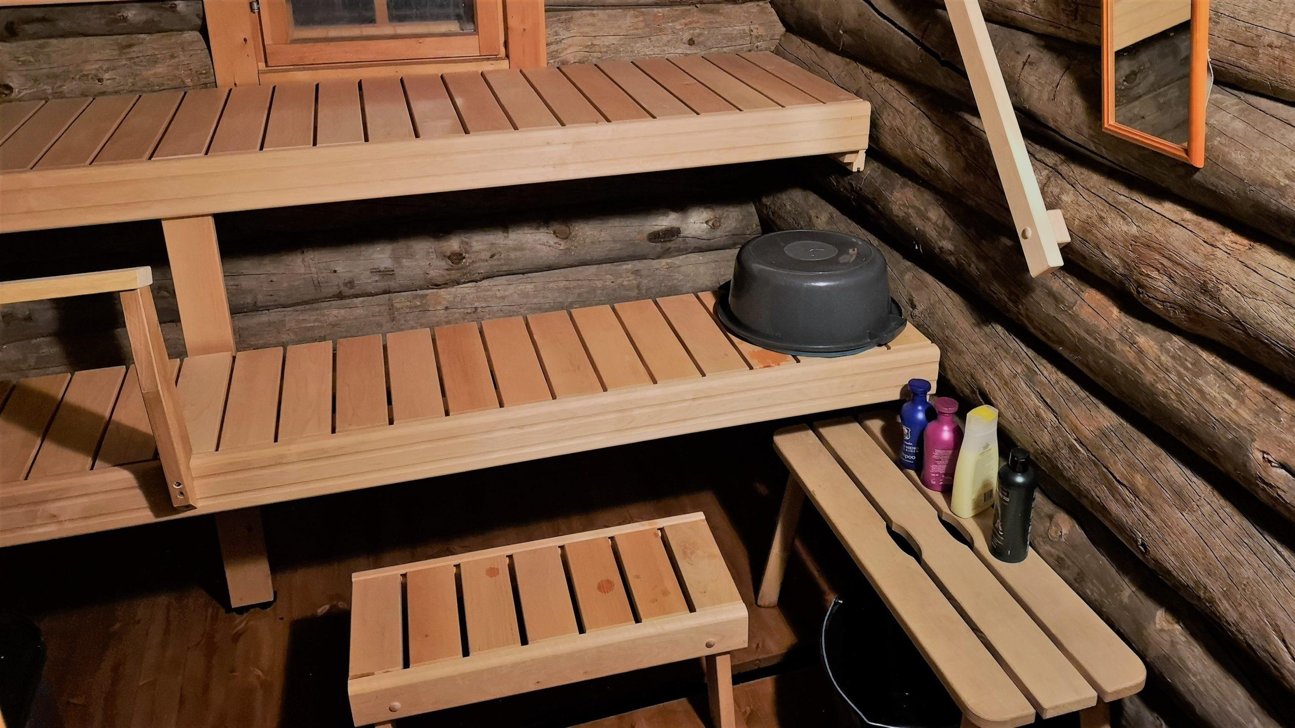Sauna, Steam room