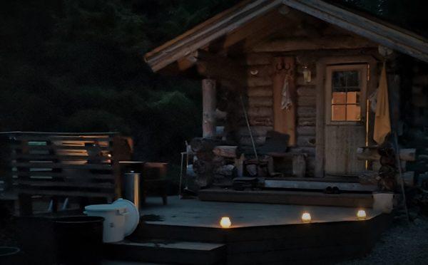 Terrace of Sauna