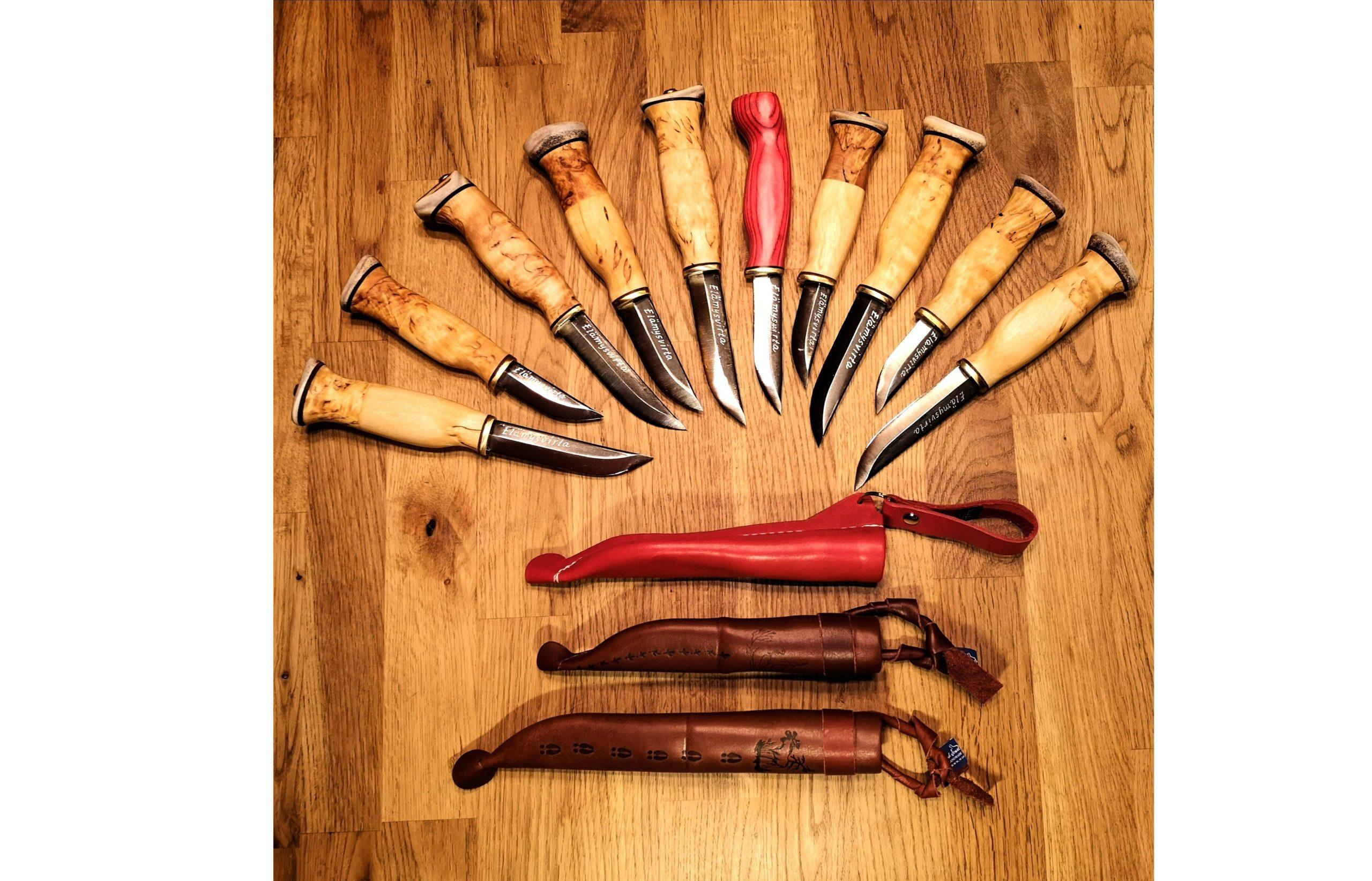 Wood Jewel Knife